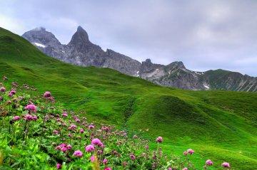 Wandertour Oberstdorf-Meran