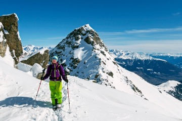 Skitour Sesvenna Hütte