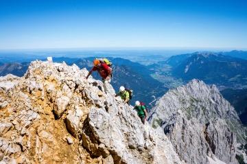 Klettersteig Alpspitze-Zugspitze