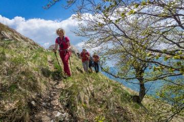 Wandertour Gardasee Wanderung