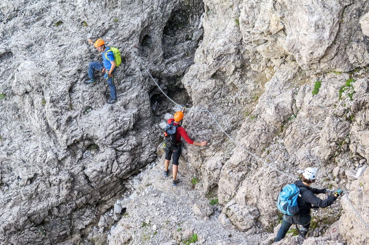 Klettersteig Comer See : Klettersteige am comersee