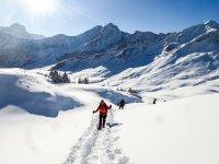 Schneeschuhwandern Kleinwalsertal