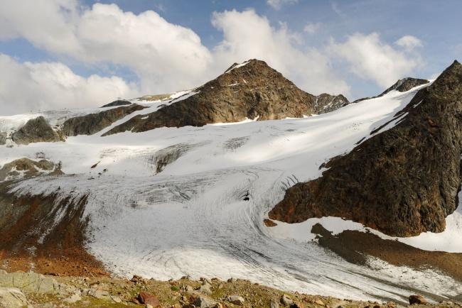Gletscherwelt an der Braunschweiger Hütte