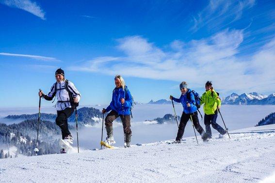 Schneeschuhwandern Allgäu
