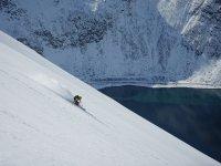 Skifahrer Norwegen