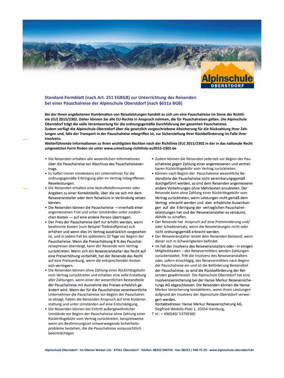 ASO Formblatt gemäß EU Richtlinie
