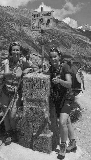 Wandern nach Sterzing in Südtirol