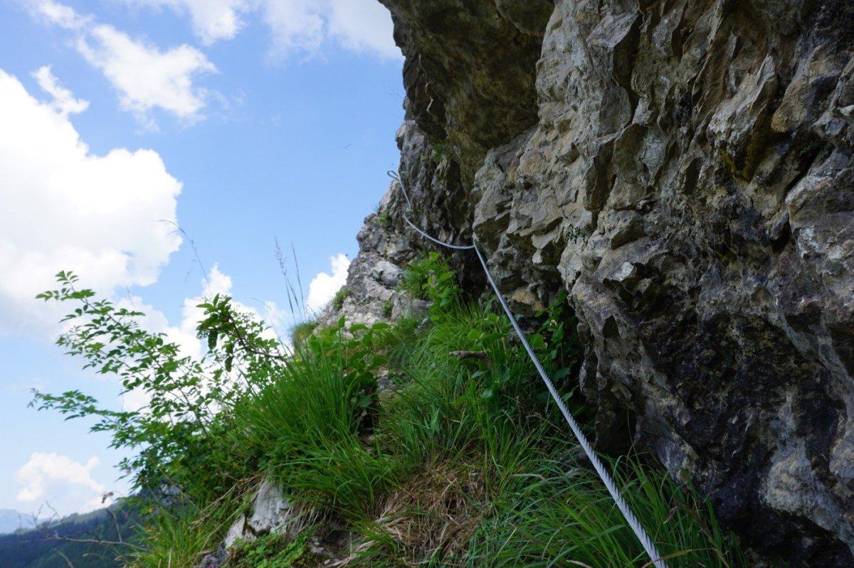 Klettersteig Iseler : Ostrachtaler und iseler klettersteig tagestour