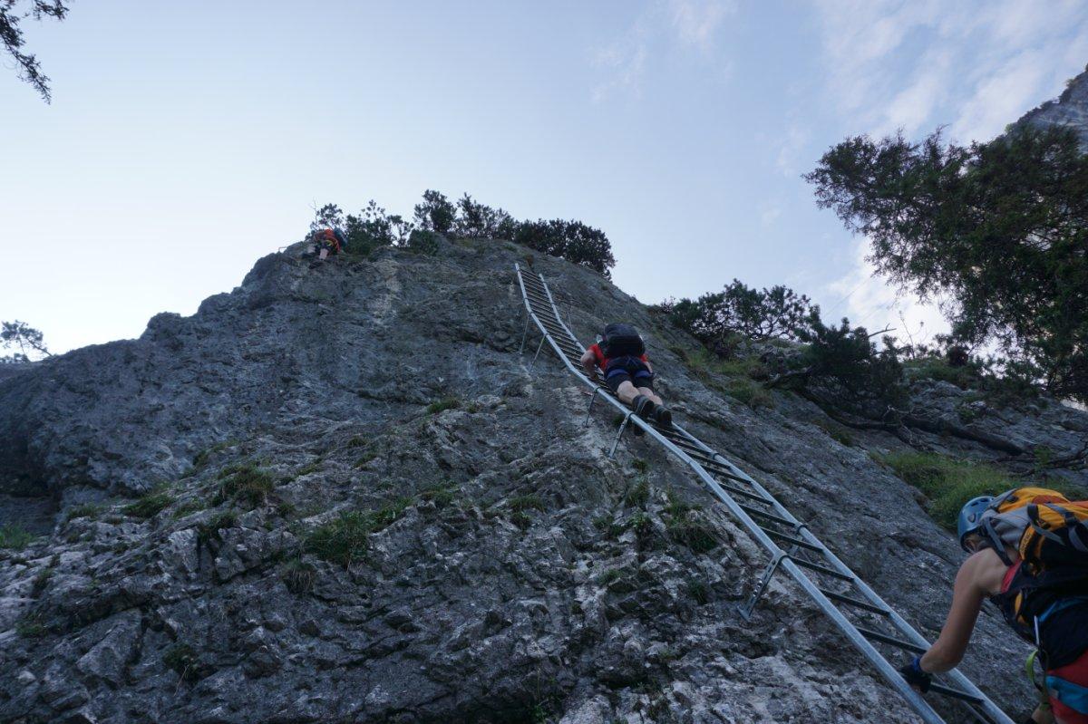Klettersteig Jochpass : Ostrachtaler und iseler klettersteig tagestour