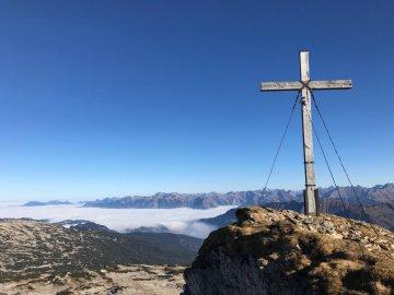 Ifen Gipfel mit Gottesackerplateau