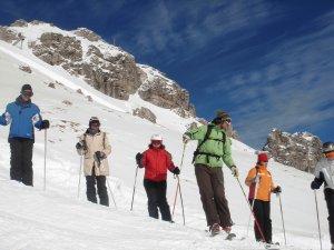 Skikurs am Nebelhorn