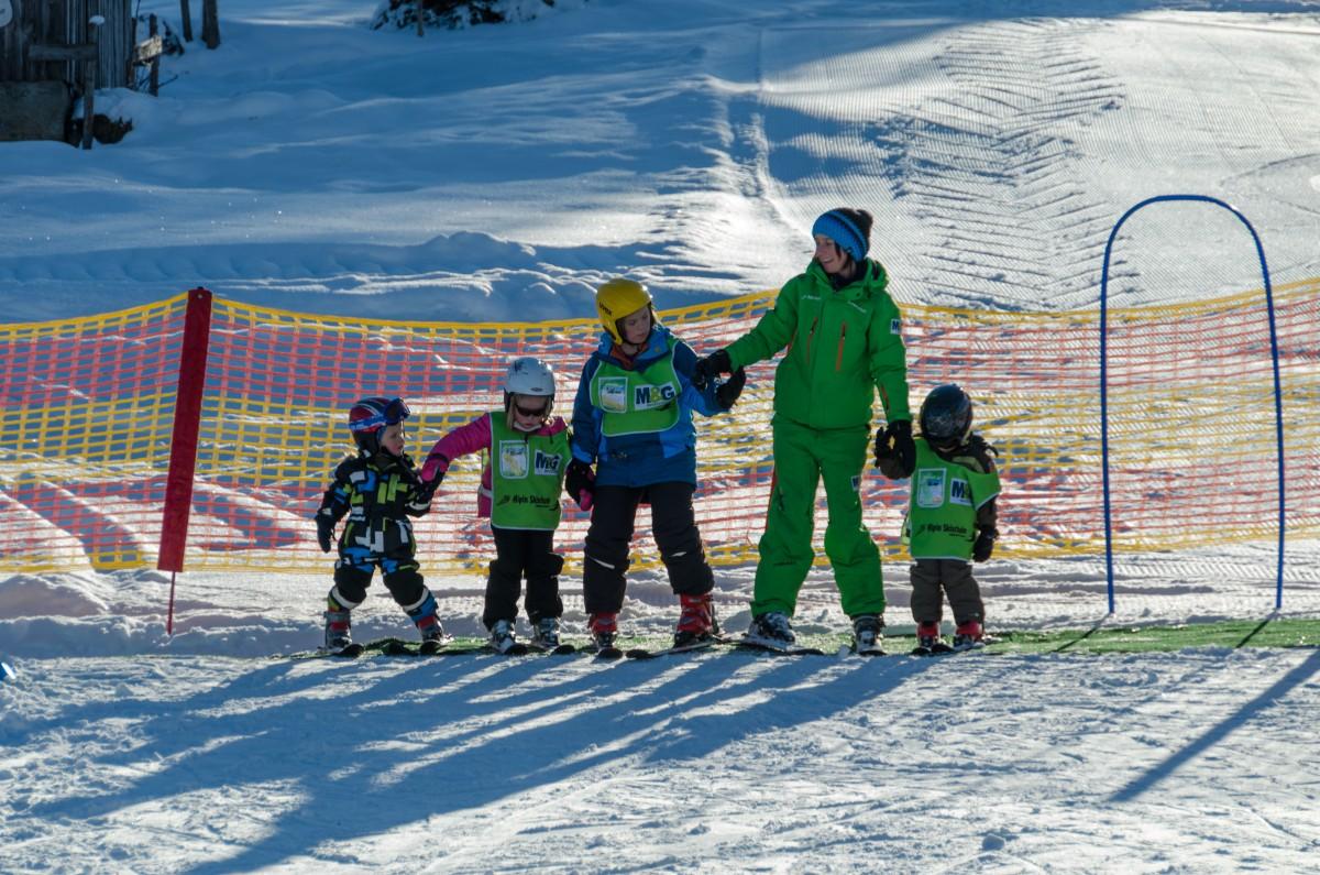 Kinderskikurs Alpin Skischule