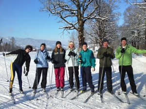 AlpinSkischule Oberstdorf Langlauf Gruppe