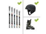 Ausrüstung - Ski Set mit Helm