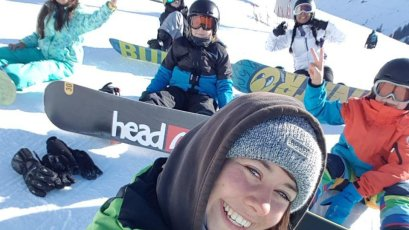 Snowboardschule in Oberstdorf