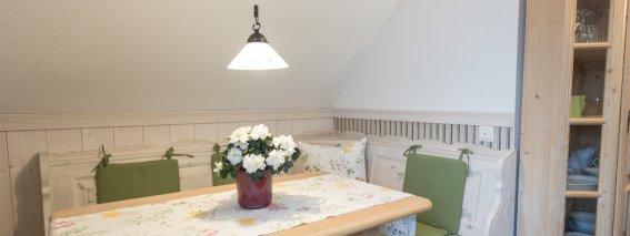Villa Alpjuwel Esszimmer