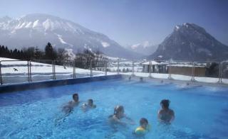 Alpenbad Pfronten Winter