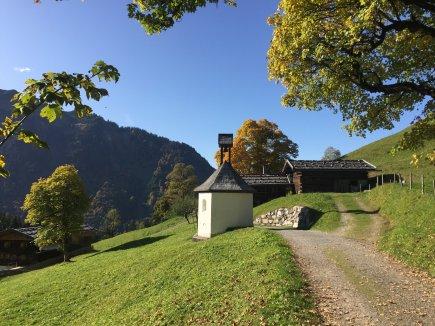 wunderbare Herbststimmung in Gerstruben