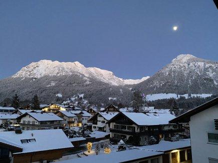 Die Blaue Stunde in Oberstdorf