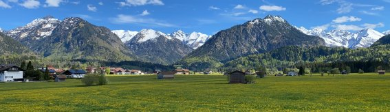 Wunderbarer Frühling in Oberstdorf