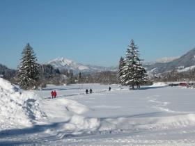 traumhaft Winterwandern in Oberstdorf