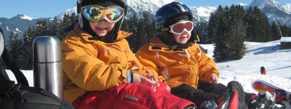 Skikinder lieben es am Söllereck
