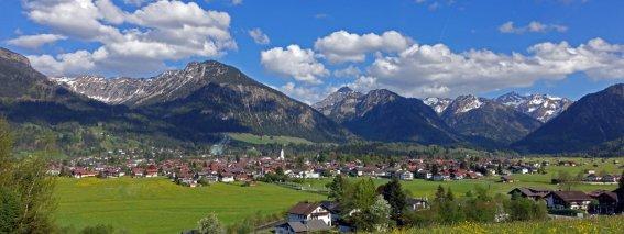 Oberstdorf liegt so wunderschön!