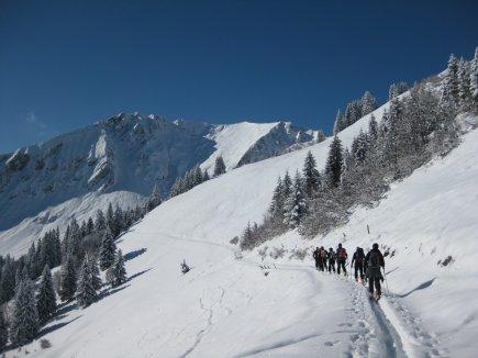Skitouren und Winterwandern am Söllereck