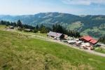 Die Berghütte Bärenfalle und die Sesselbahn-Bergstation