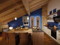 Bergwasser - Essbereich und Küche