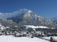 Winterbild Oberstdorf