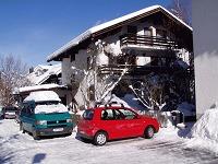 Parkplatzsituation im Winter