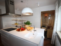 Küche-Sauna