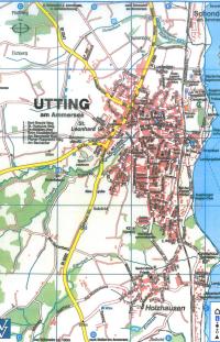 Stadtplan Utting Titelbild
