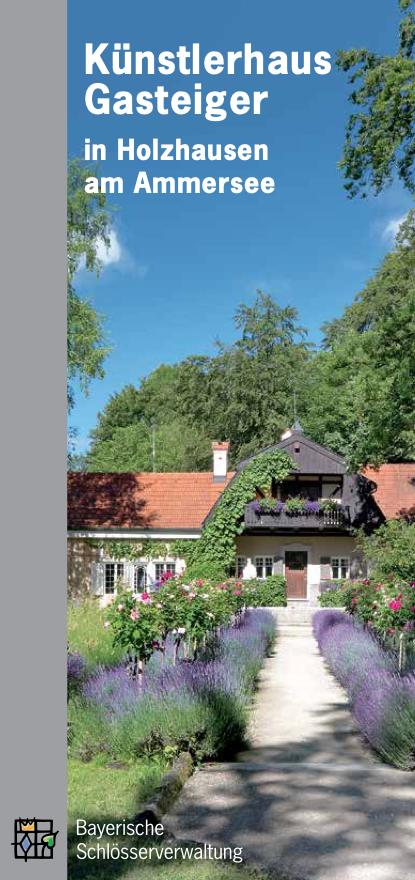 Deckblatt Künstlerhaus Gasteiger