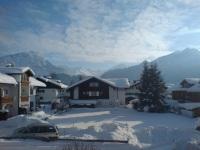 Blick vom Balkon 'Starenhäusle' Winter