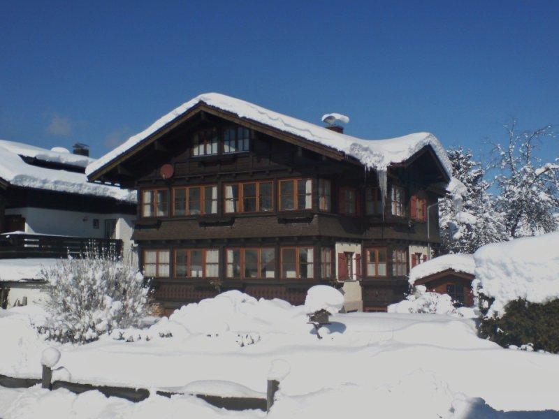 Im Winter und .....