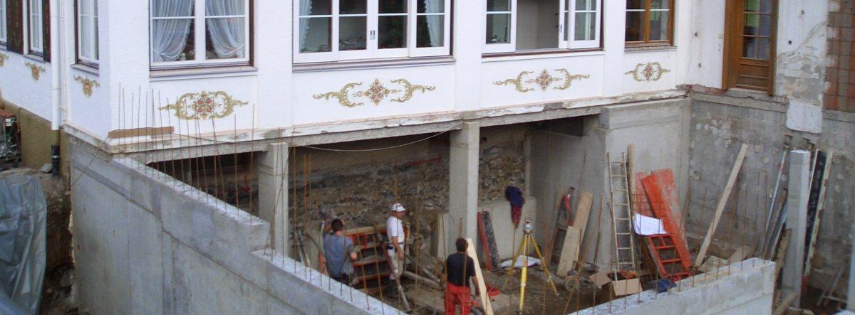Neubau Wohn- u. Geschäftshaus