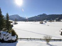 Winter Aussicht Blick zur Südseite