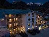 Abendansicht Apartmenthotel Oberstdorf