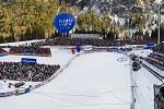 Große Kulisse bei der FIS Team Tour