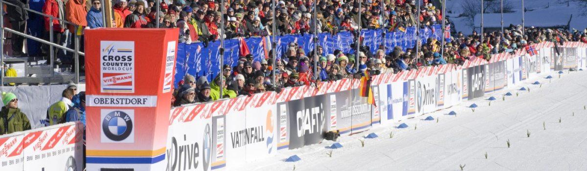 Zuschauer bei der Tour de Ski