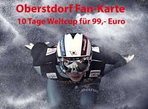 Oberstdorf Fan Karte