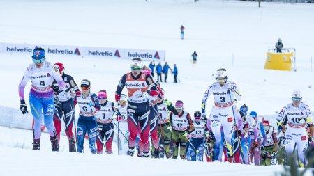 Die Weltelite der Damen in Oberstdorf