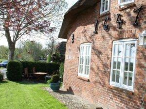 Ferienhaus mit Garten auf Föhr