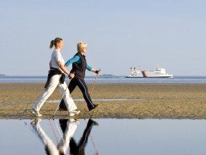 Nordic Walking auf Föhr