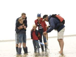 Nordsee foehr familie macht wattfuehrung tash jens koenig © Tash/Jens König