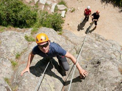 Saastal Klettern- art harder - Fotograf: Stefan-Heiligensetzer
