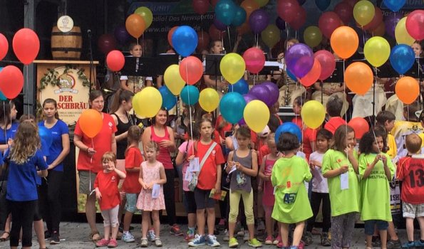 Kindermeile am Sonthofer Stadtfest