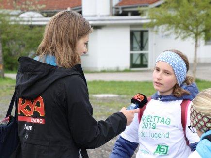 RSA Radio beim Umwelttag 2019